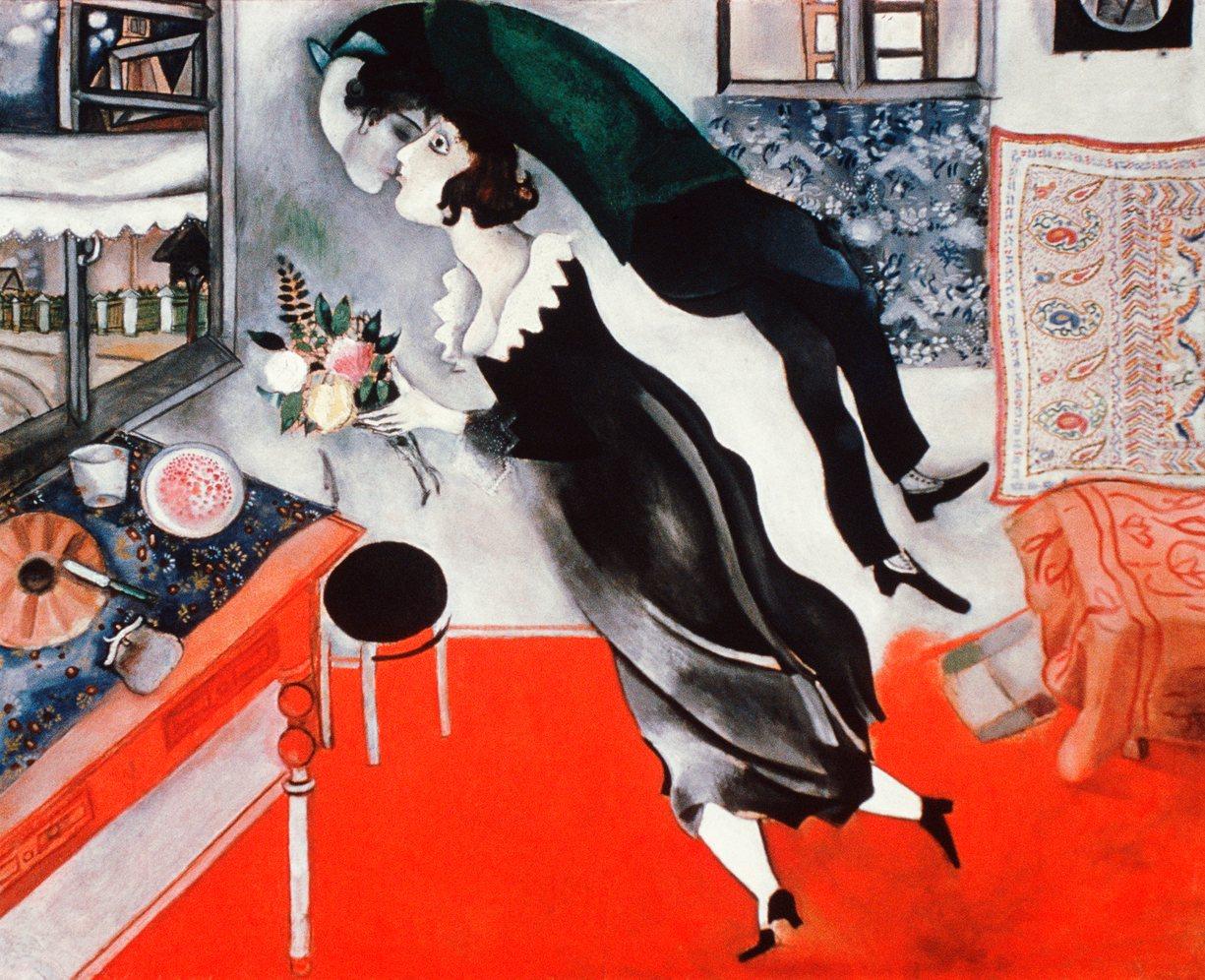 The Birthday, Marc Chagall