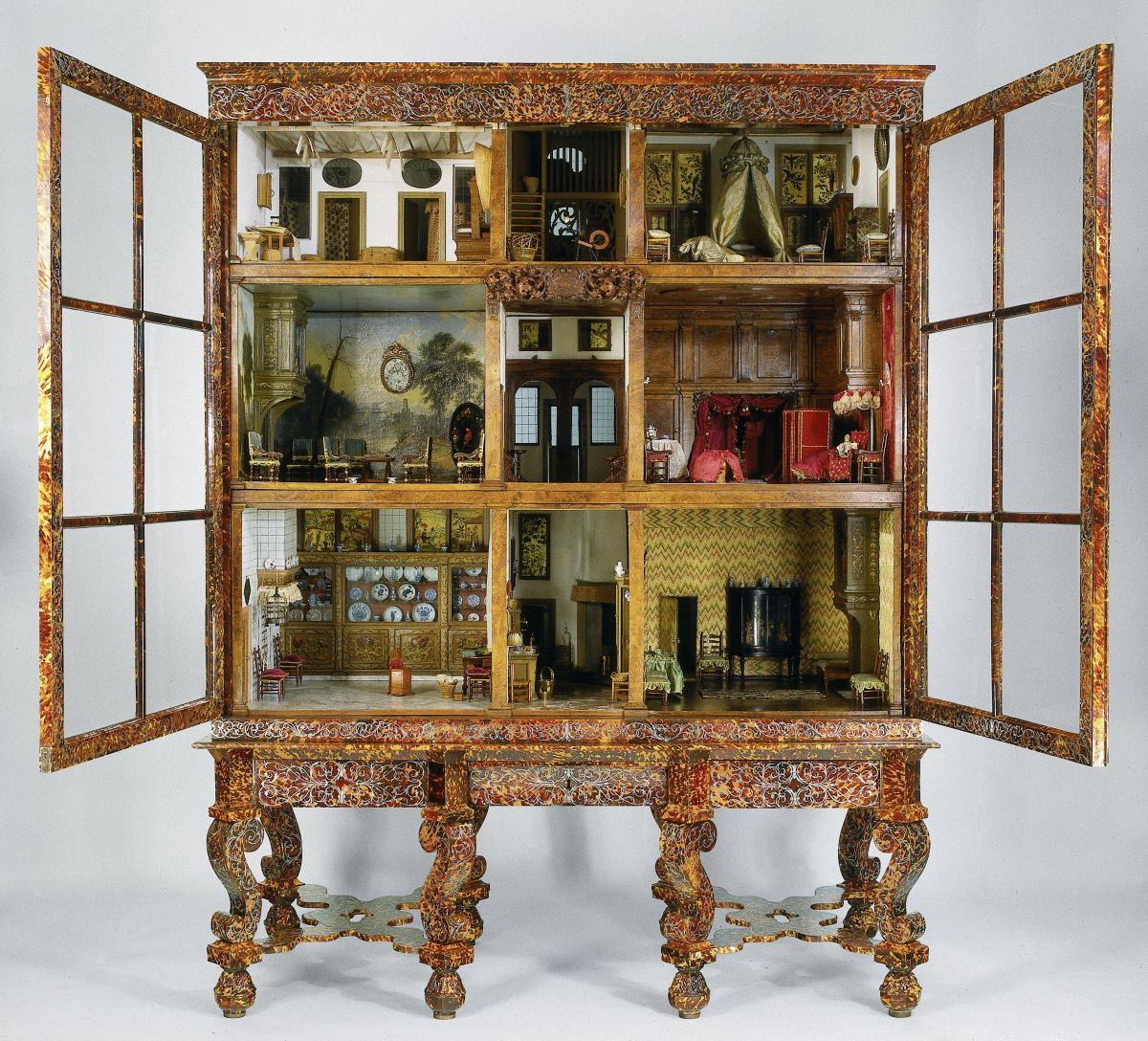 To κουκλόσπιτο της Πετρονέλα Όρτμαν στο Rijksmuseum