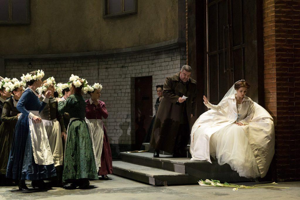 Στις πρόβες της όπερας «Λόενγκριν»