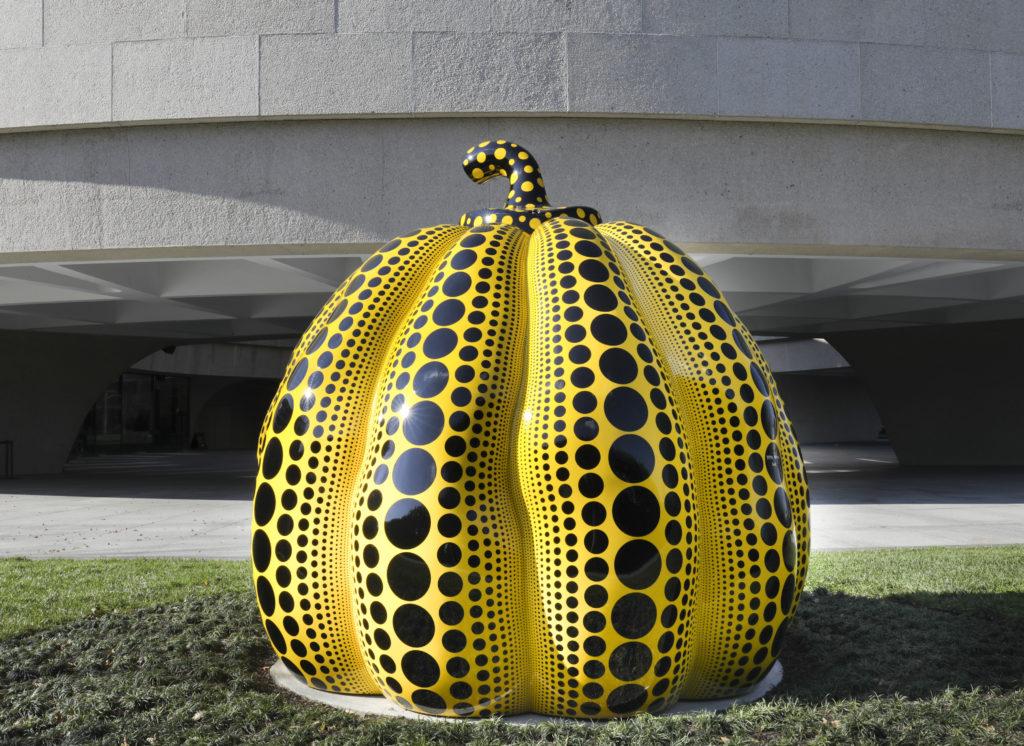 Pumpkin (2016), Hirshhorn Museum and Sculpture Garden.
