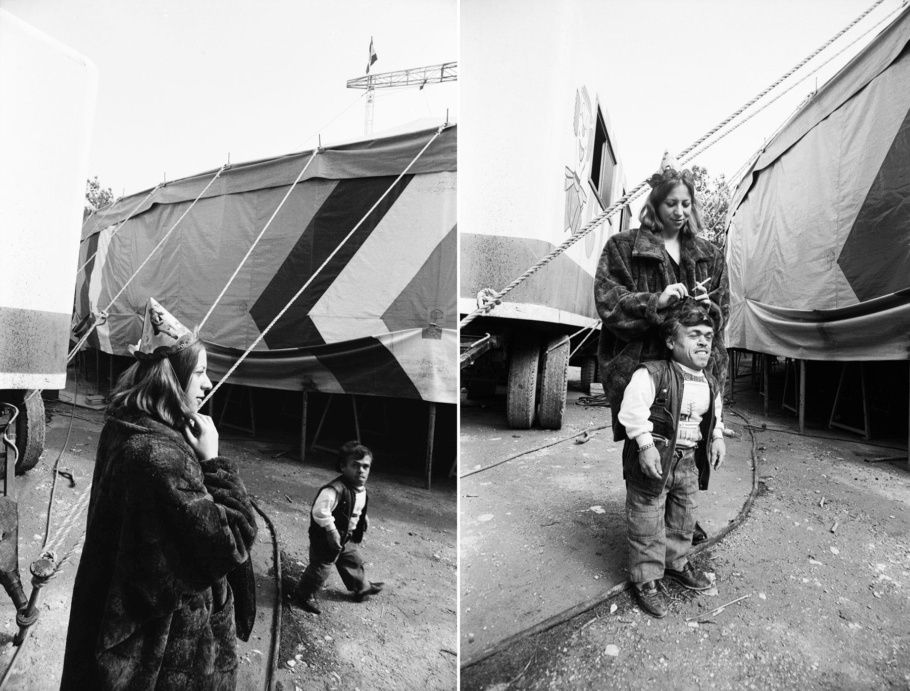 Στο τσίρκο Curatola (Harlem) στη Νέα Φιλαδέλφεια, 1986