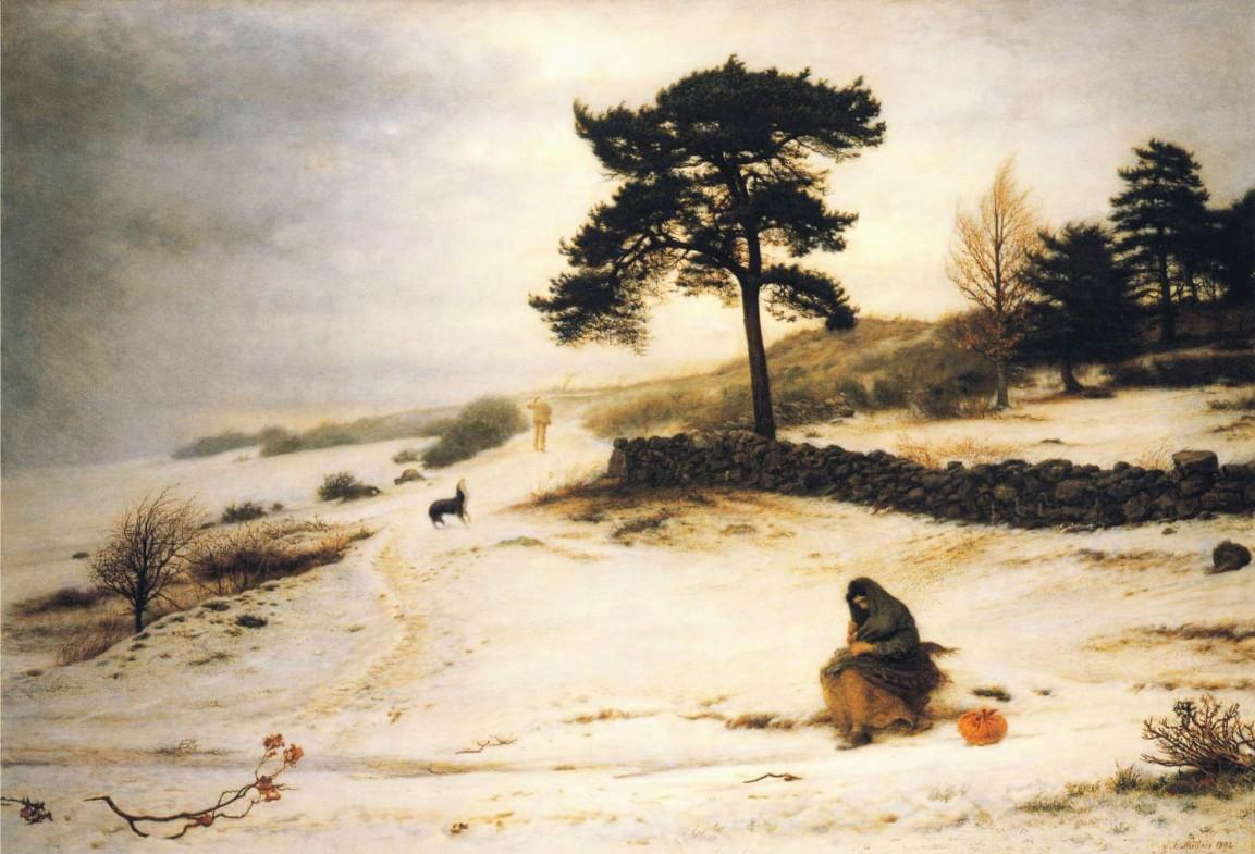 Blow, Blow Thou Winter Wind, John Everett Millais, 1892