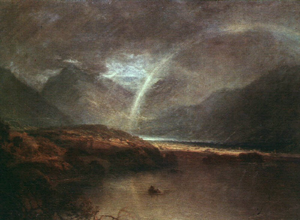 Buttermere Lake, A Shower, 1798