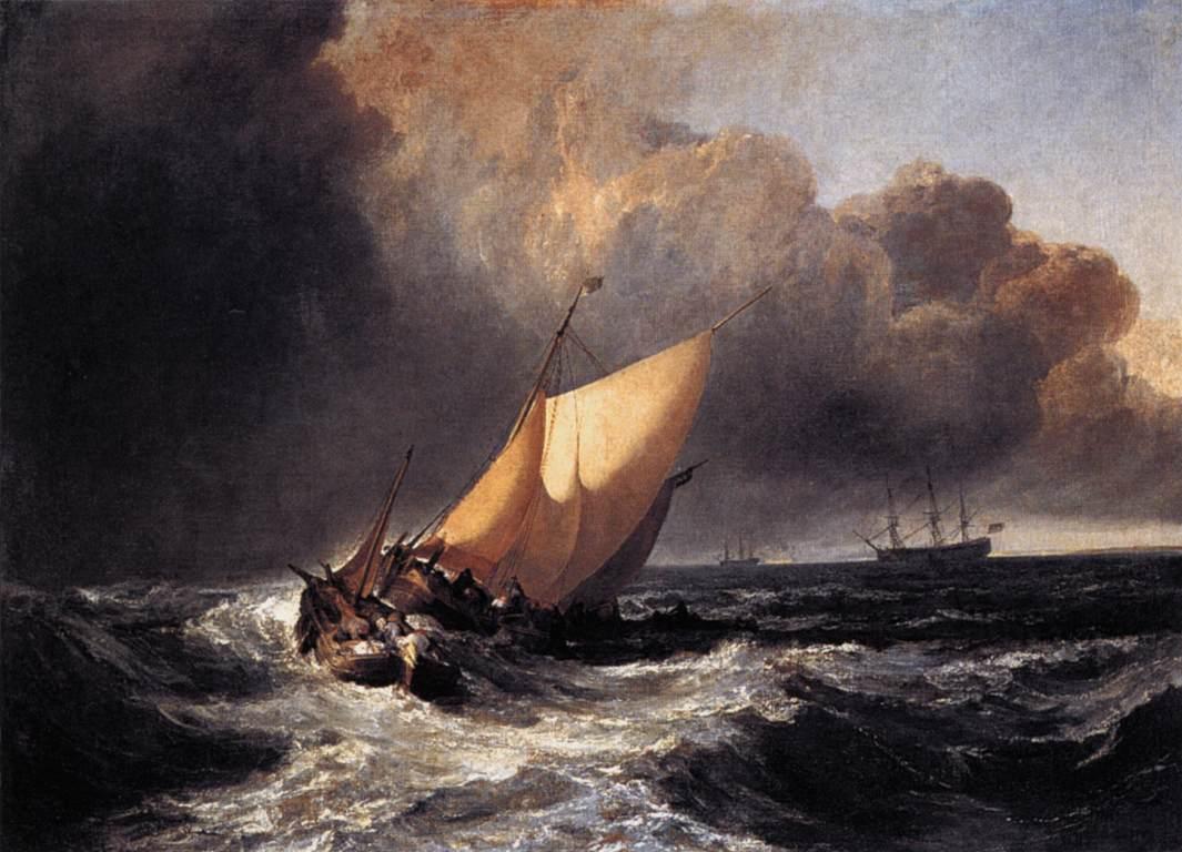Dutch Boats In A Gale, 1801