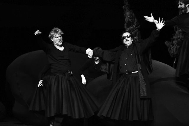 Από την παράσταση «Γκόλφω» σε σκηνοθεσία Νίκου Καραθάνου