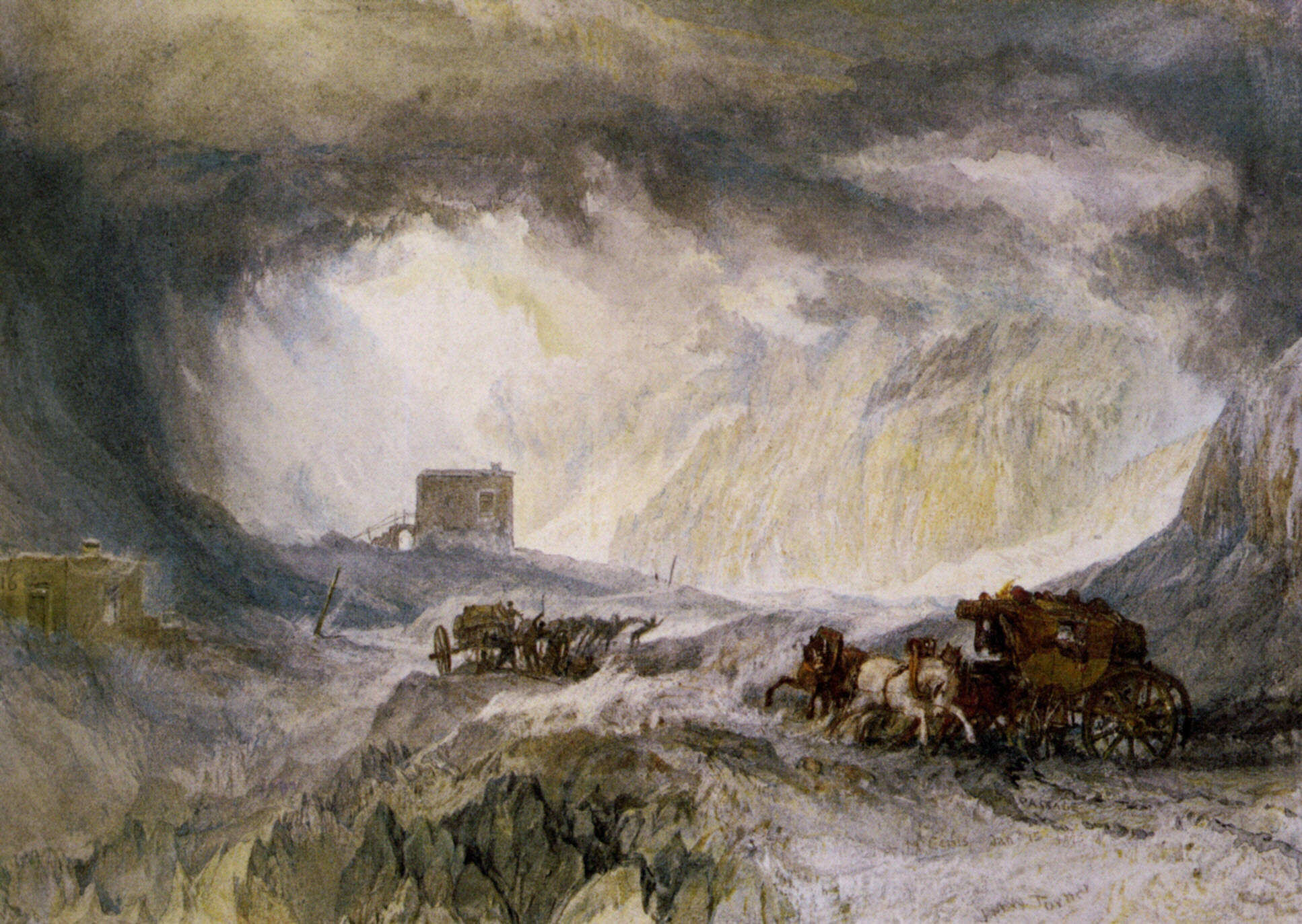 Passage Of Mount Cenis