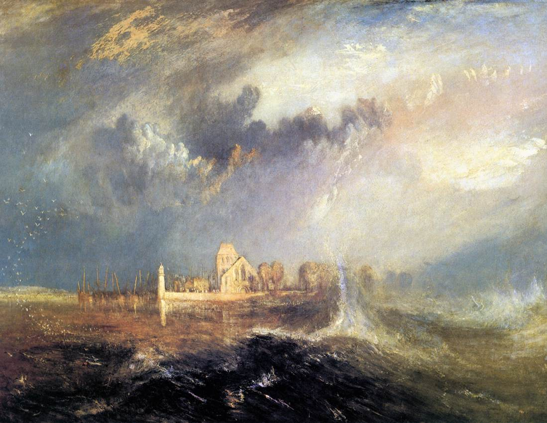 Quillebeuf, At The Mouth Of Seine, 1833