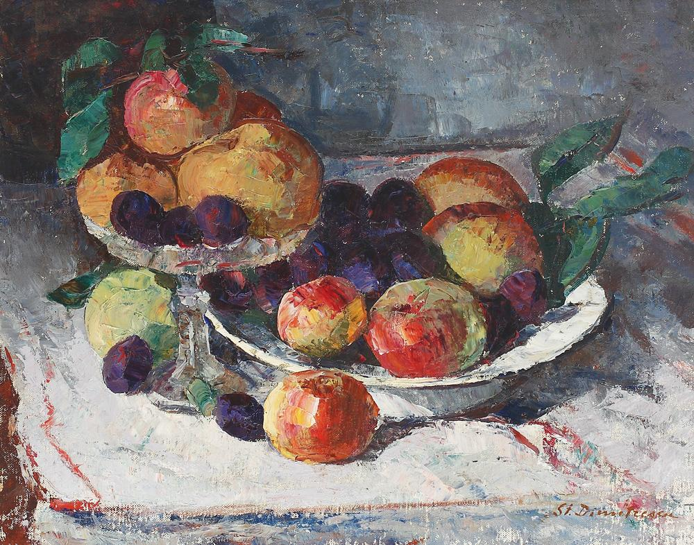 Still Life With Ripe Fruits, Stefan Dimitrescu