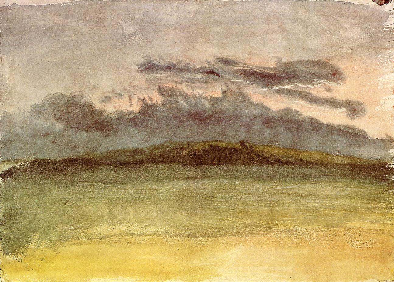 Storm Clouds Sunset, 1825