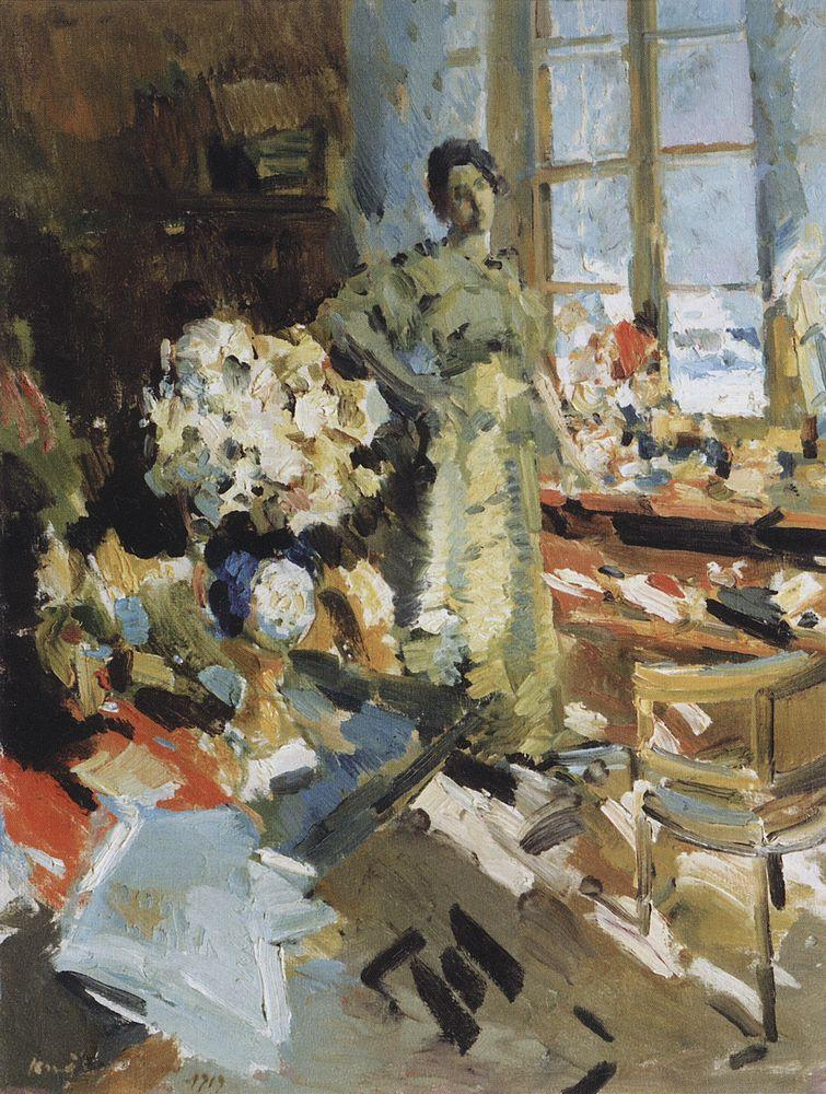 Winter Sun, Konstantin Korovin, 1919