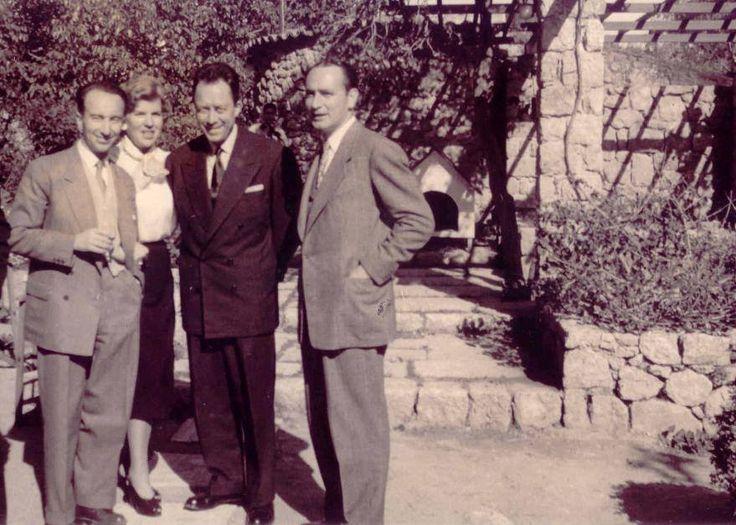 O Ροζέ Μιλιέξ και ο Αλμπέρ Καμύ στην Αθήνα