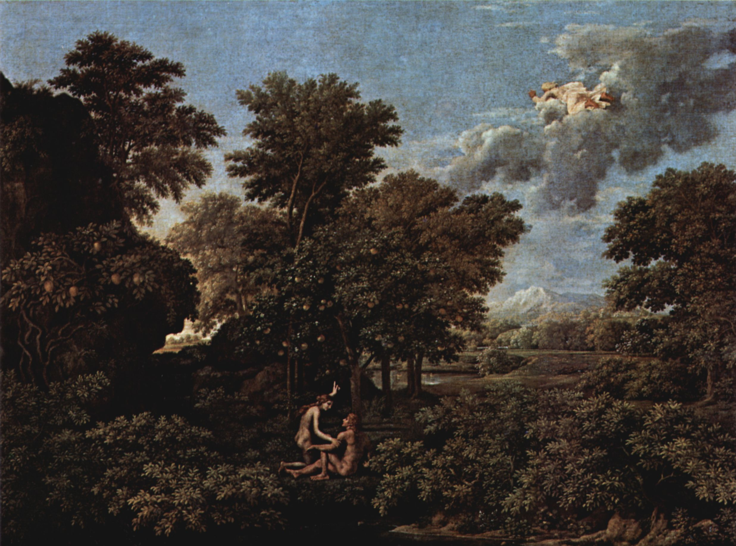 Spring (The Earthly Paradise), Nicolas Poussin, 1660