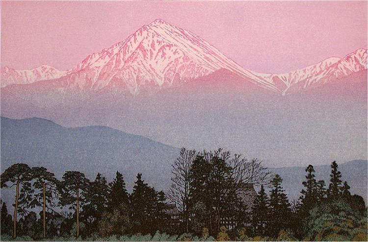 Early Spring in Azumino, Toshi Yoshida