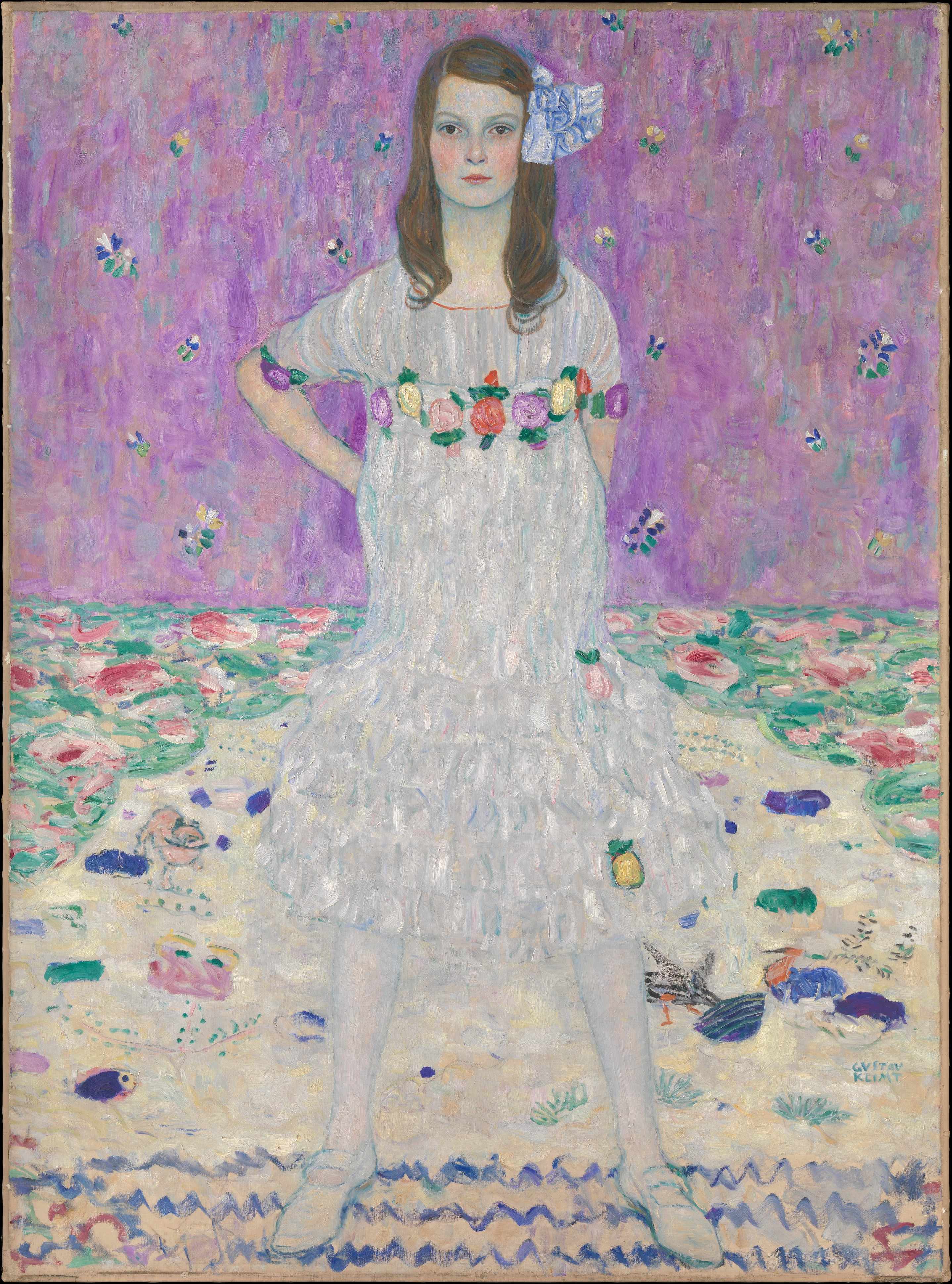 Mäda Primavesi (1903–2000), Gustav Klimt (Austrian, Baumgarten 1862–1918 Vienna)