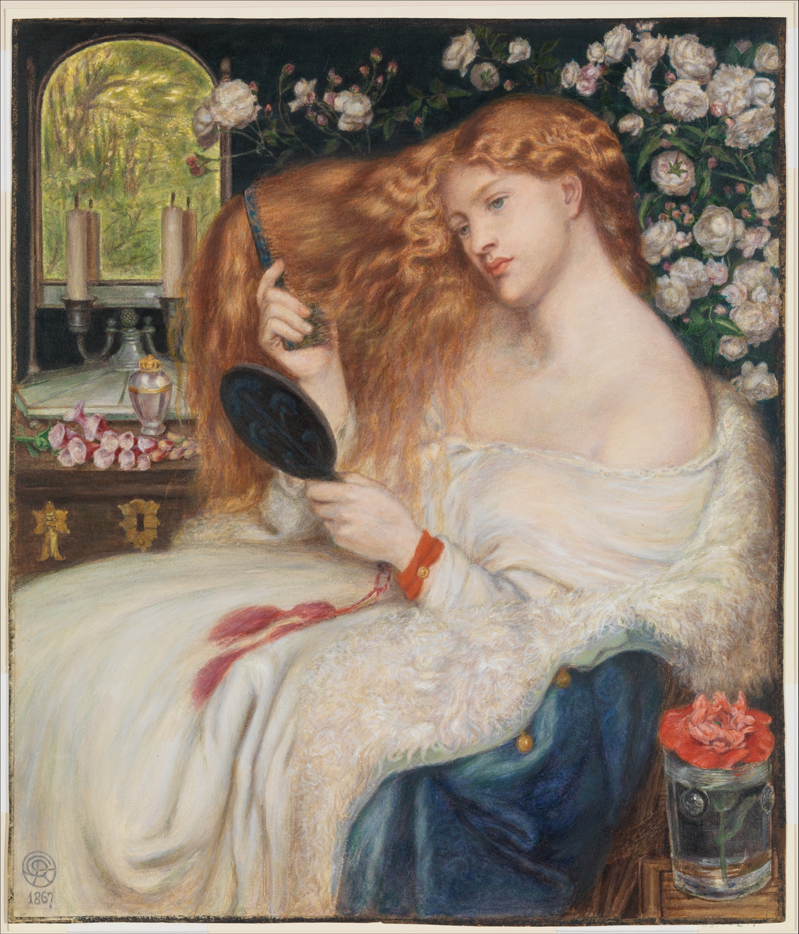 Dante Gabriel Rossetti (British, London 1828–1882 Birchington-on-Sea)