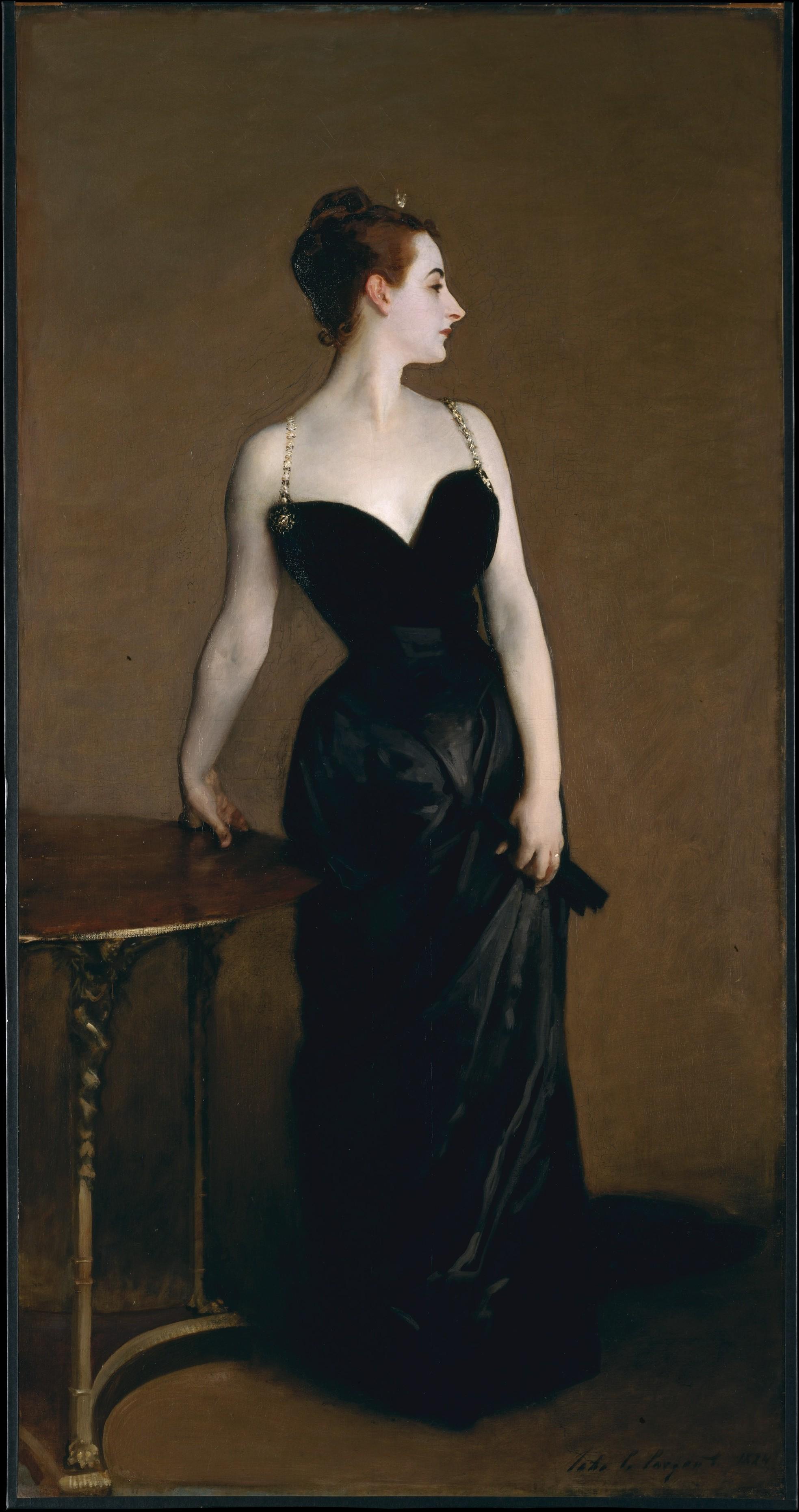Madame X (Madame Pierre Gautreau), John Singer Sargent (American, Florence 1856–1925 London)