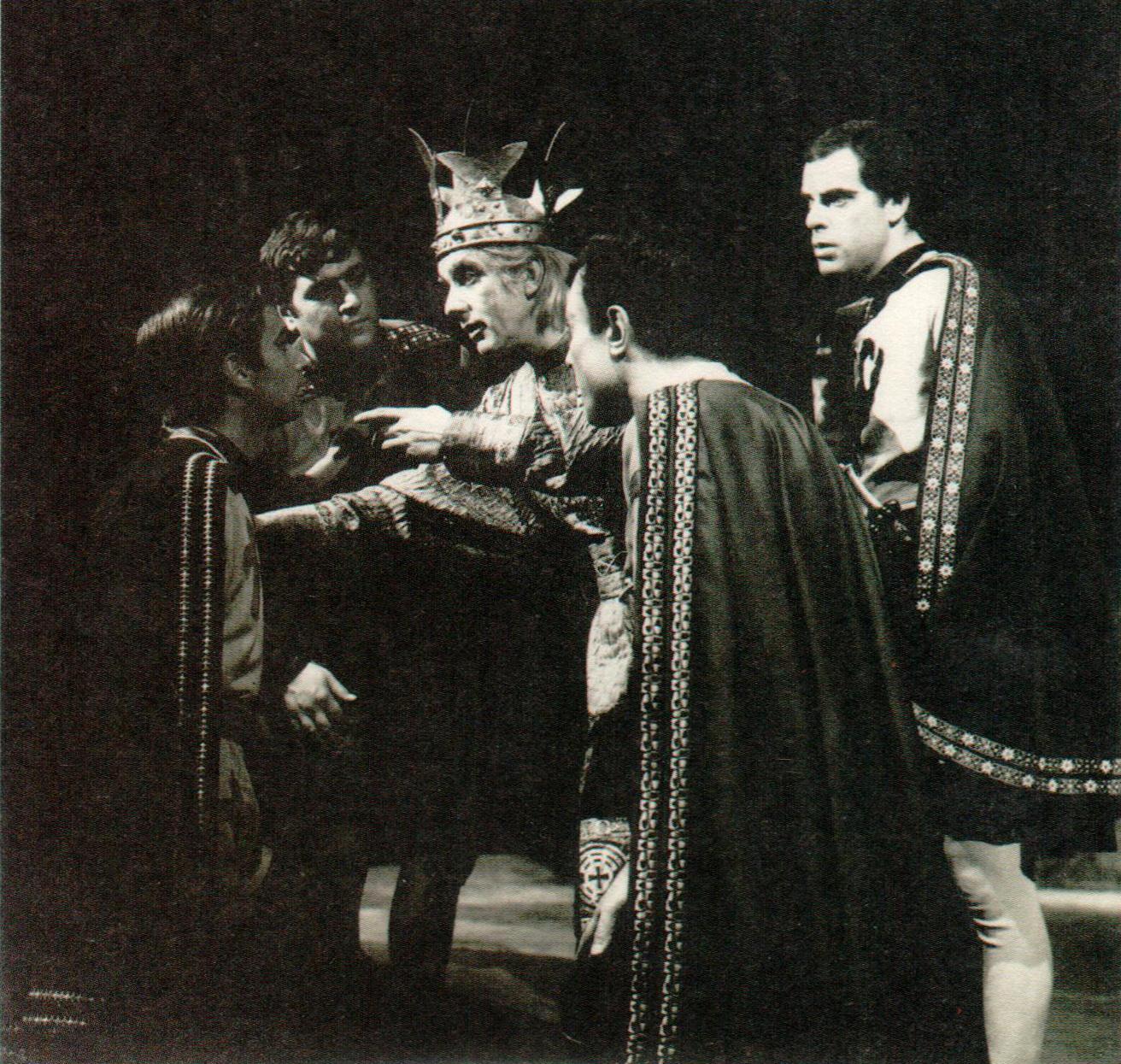 Εθνικό Θέατρο, Λουίτζι Πιραντέλο, Ερρίκος Δ', 1967-68