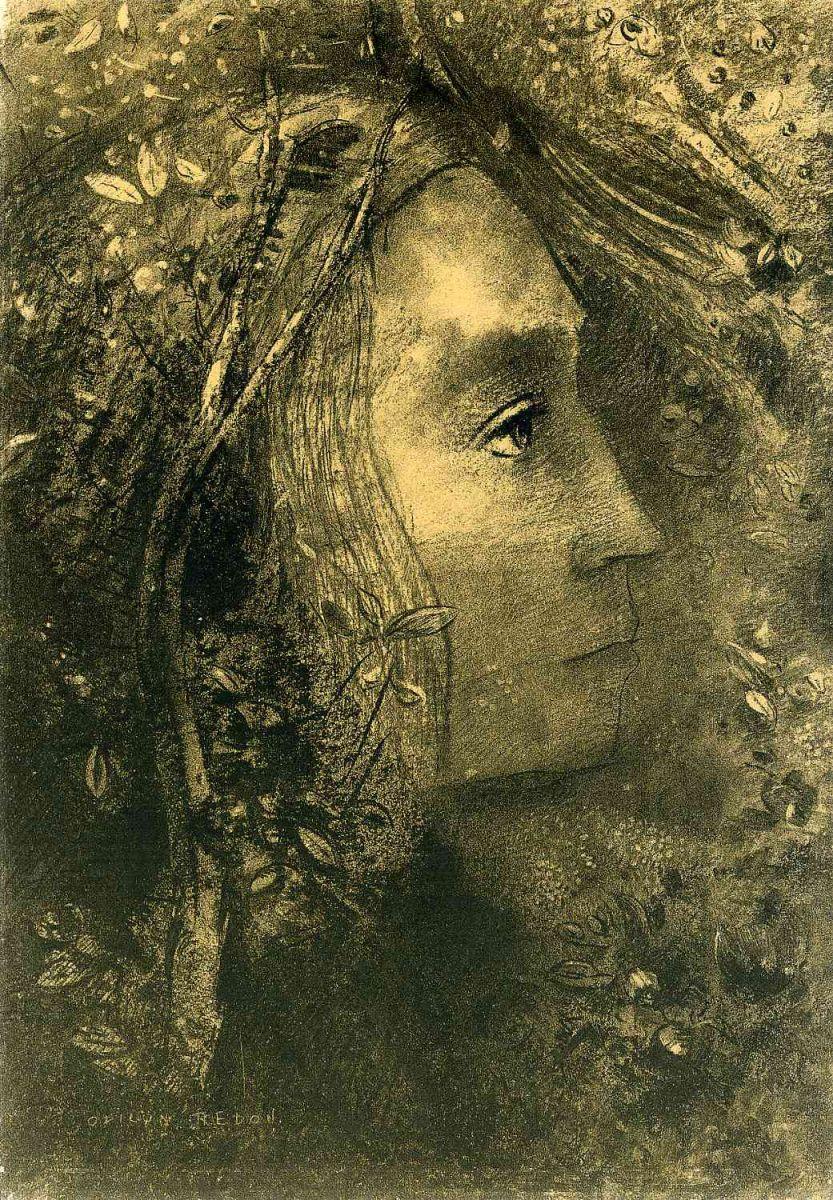 Spring, Odilon Redon, 1883