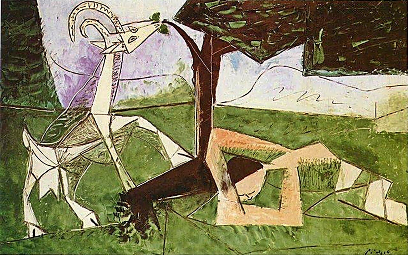 Spring, Pablo Picasso, 1959