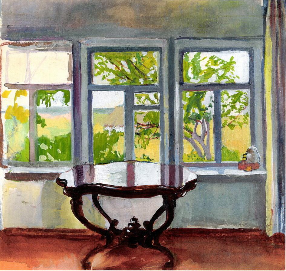 Veranda Spring, Zinaida Serebriakova, 1900