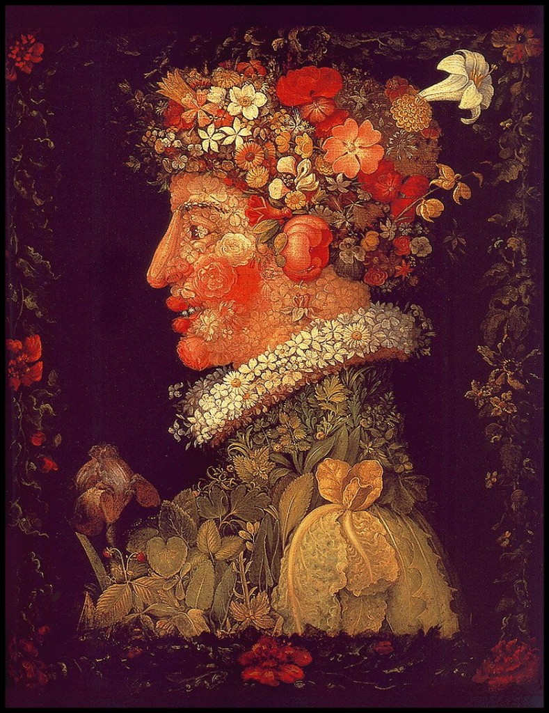 Spring, Giuseppe Arcimboldo, 1573