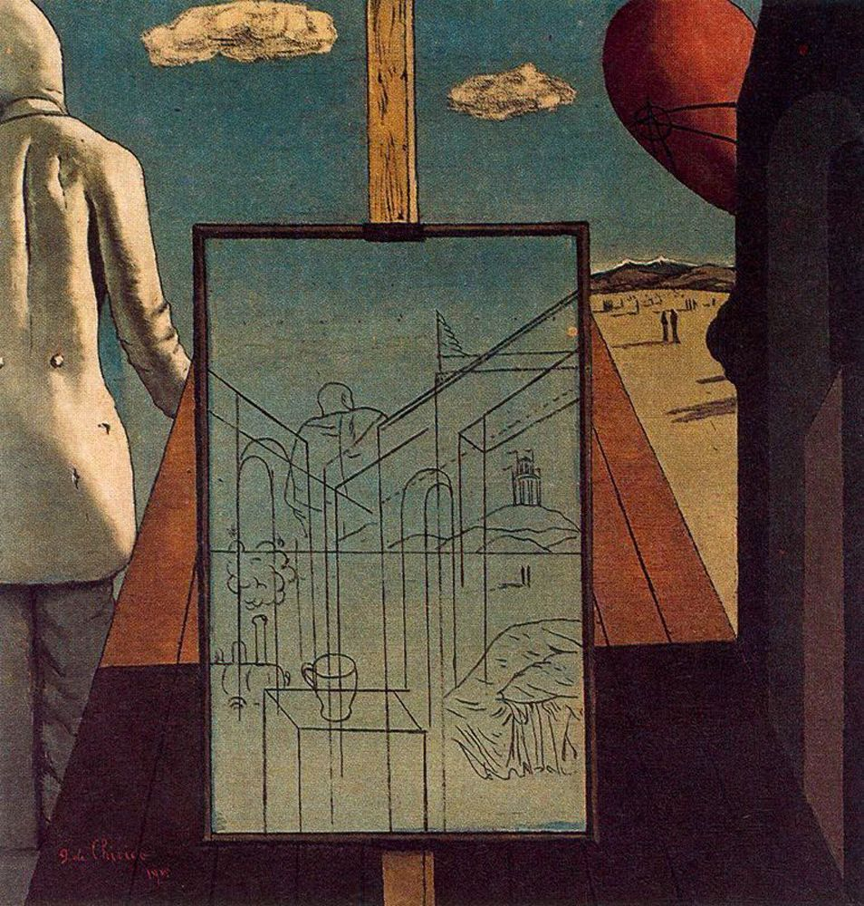 The Double Dream Of Spring, Giorgio de Chirico, 1915