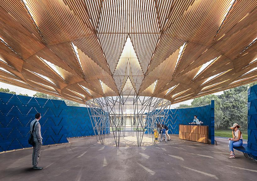 Serpentine Pavilion 2017, Francis Kéré