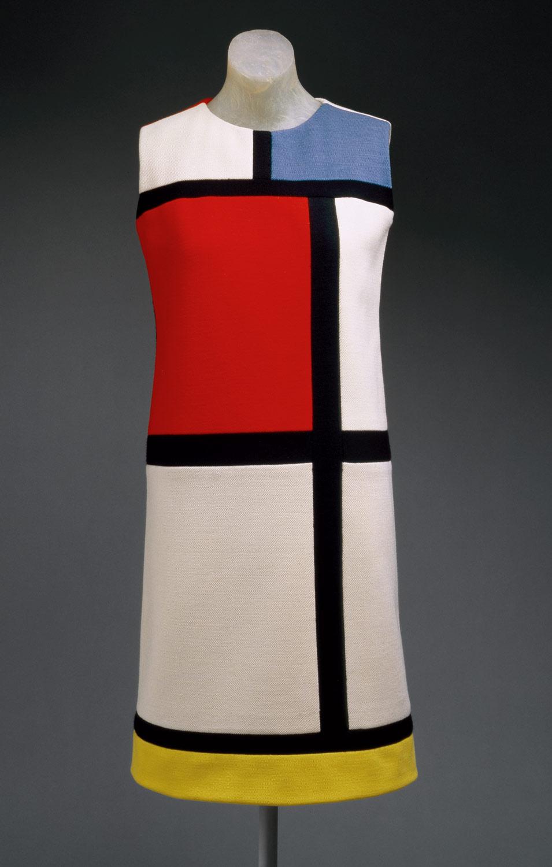 """Mondrian"" day dress, autumn 1965, Yves Saint Laurent"