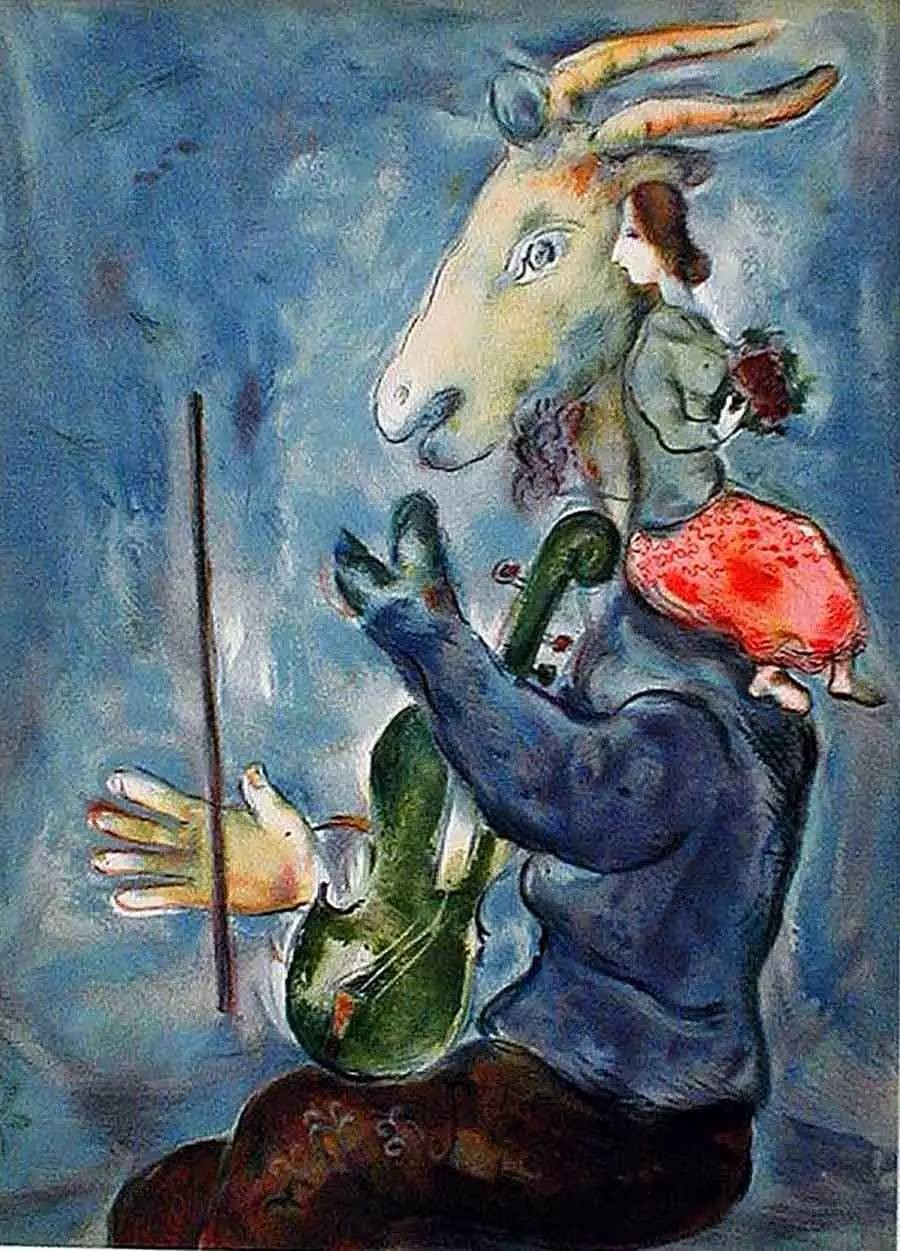 Spring, Marc Chagall, 1938