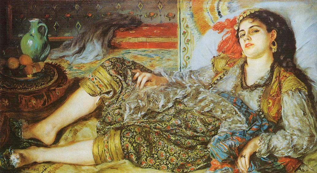 Odalisque (An Algerian Woman)