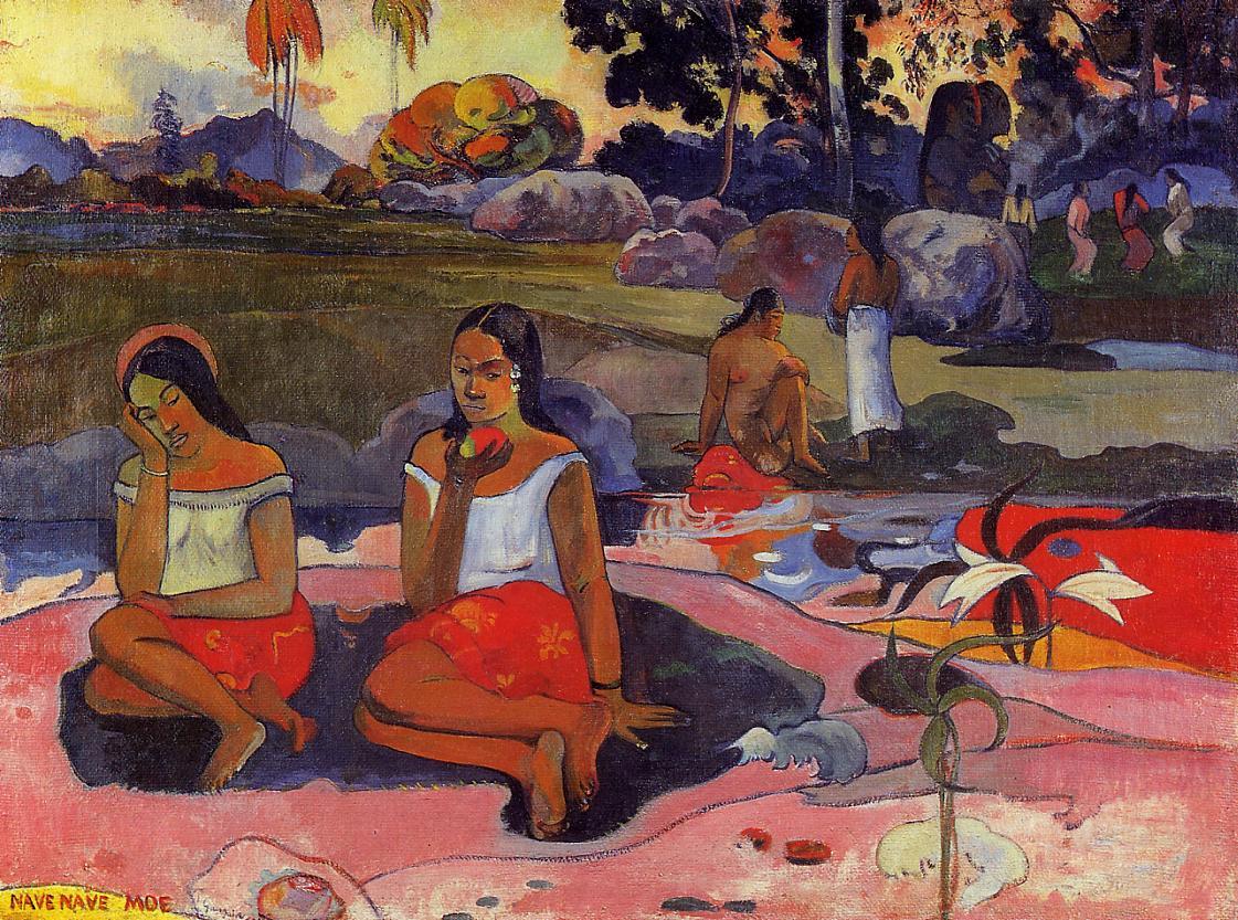 Sacred Spring, Paul Gauguin, 1894
