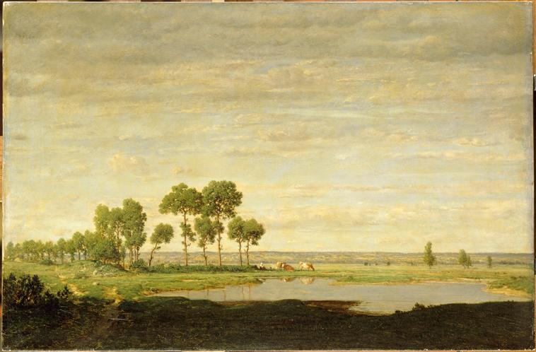 Spring, Theodore Rousseau, 1852