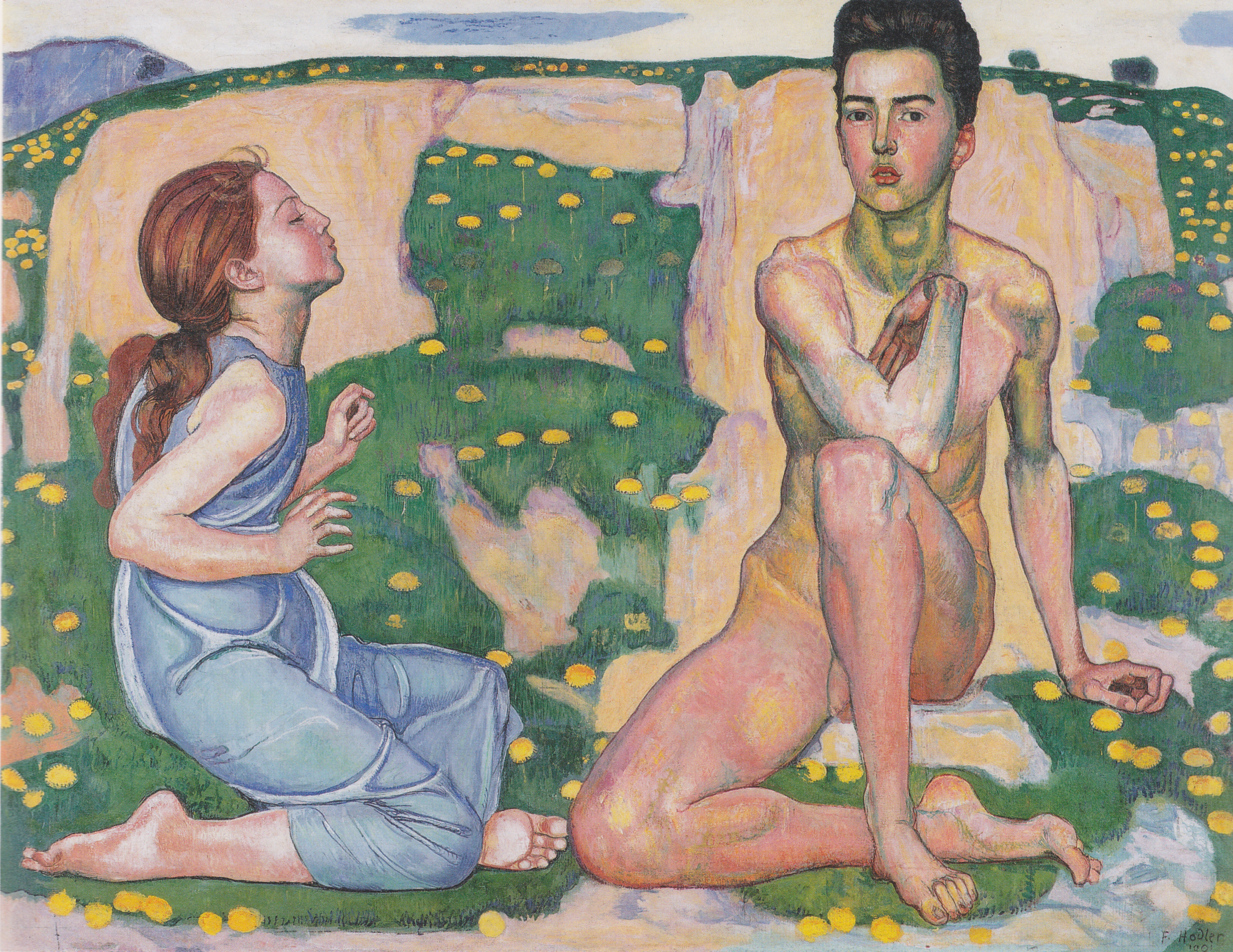 Spring, Ferdinand Hodler, 1901