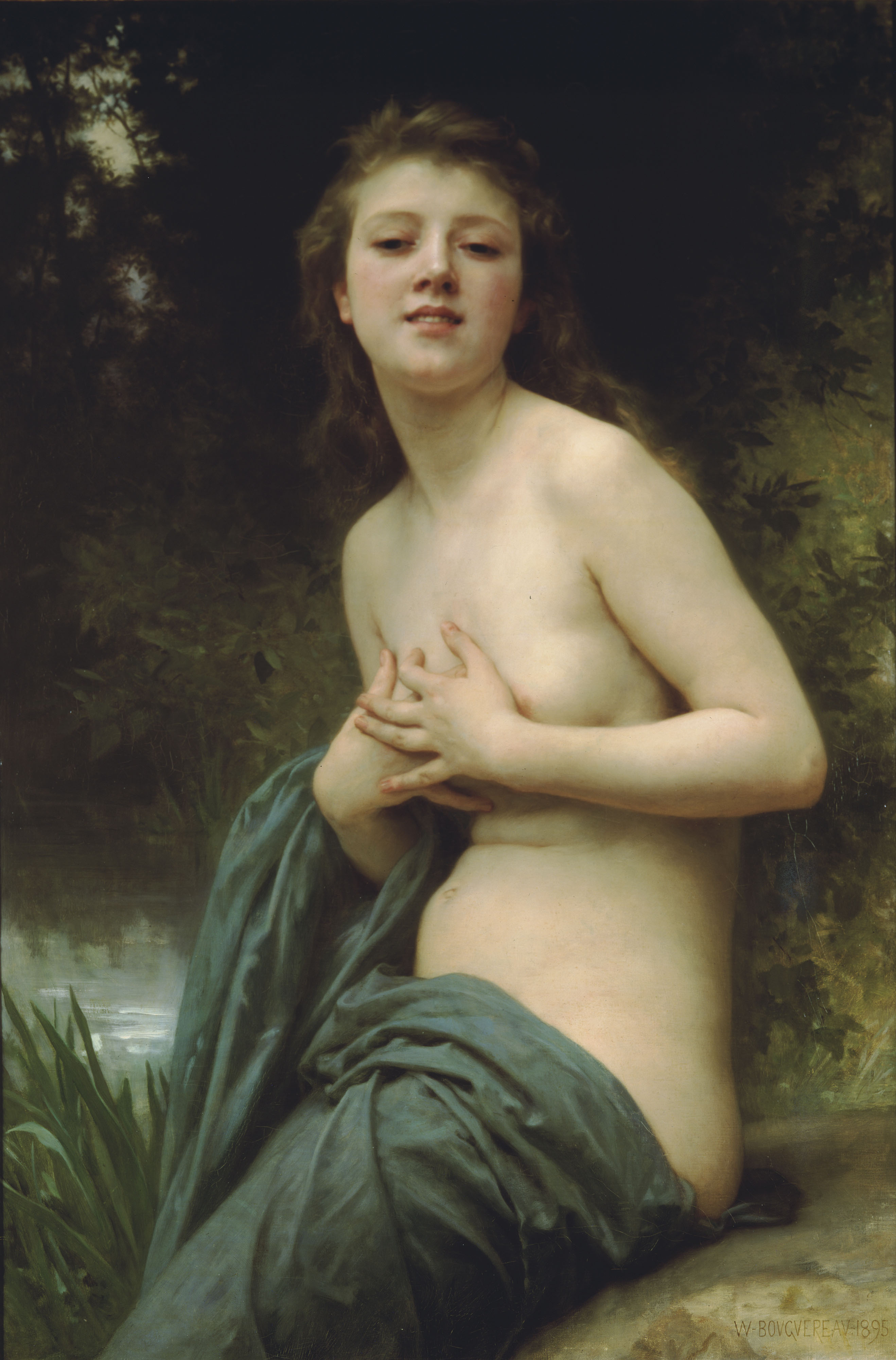Spring Breeze, William-Adolphe Bouguereau, 1895