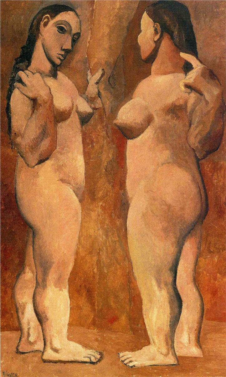 Two Nude Women, Pablo Picasso, 1906