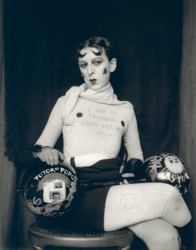 Claude Cahun, 1927. Courtesy of Jersey Heritage Collections