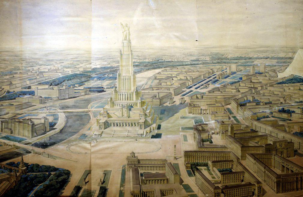 Το Παλάτι των Σοβιετικών
