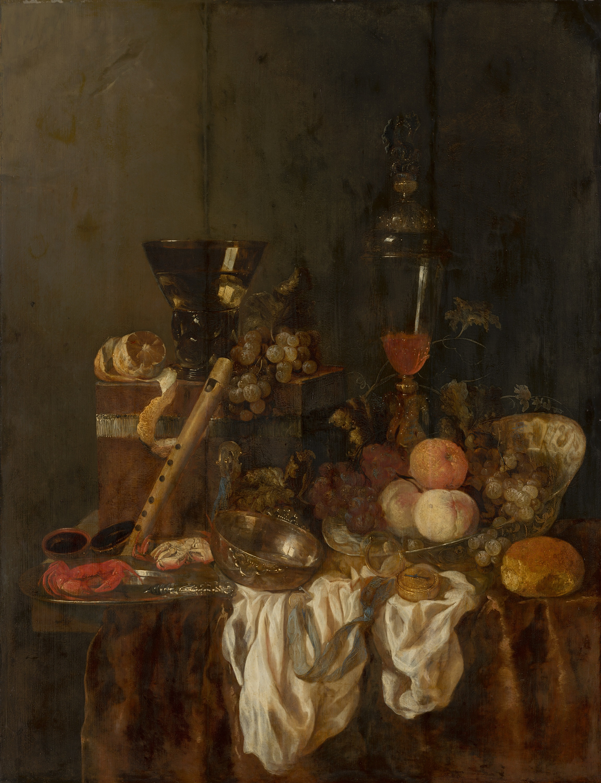 Abraham van Beyeren, Sumptuous Still Life, c. 1655