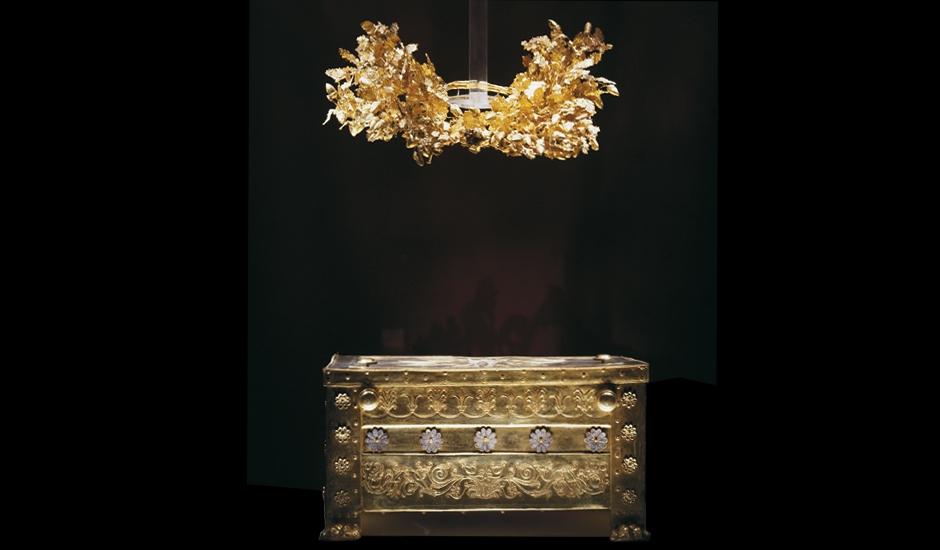 Η χρυσή λάρνακα του Φιλίππου Β΄