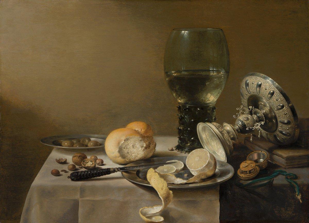 Pieter Claesz, Still Life with Tazza, 1636