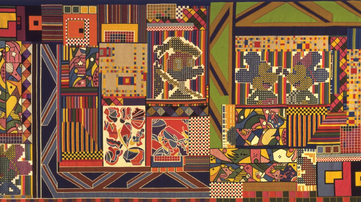 Eduardo Paolozzi, The Whitworth Tapestry, 1967 - © Trustees of the Paolozzi Foundation, licensed by DACS