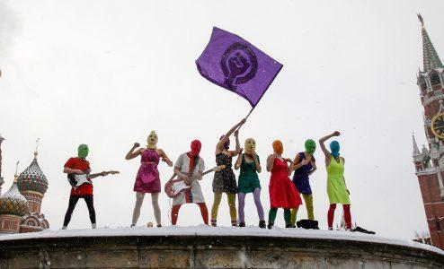Ποιος φοβάται τις Pussy Riot; στη Στέγη