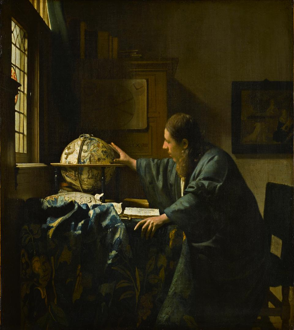 The Astronomer by Vermeer Photo: Louvre