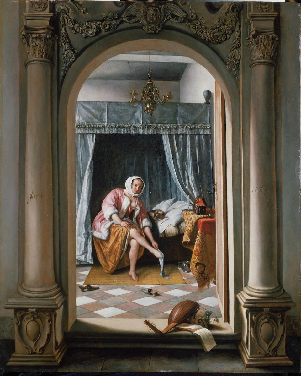 Woman at Her Toilet by Jan Steen, Royal Collection Trust, London Photo: Louvre