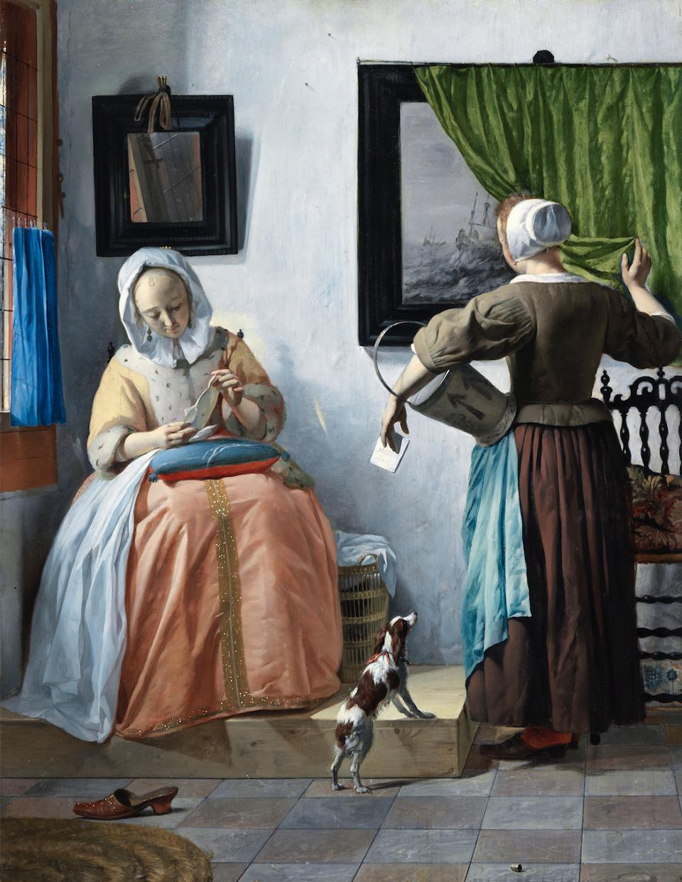 A Woman Reading a Letter by Gabriel Metsu, National Gallery of Ireland Photo: National Gallery of Ireland