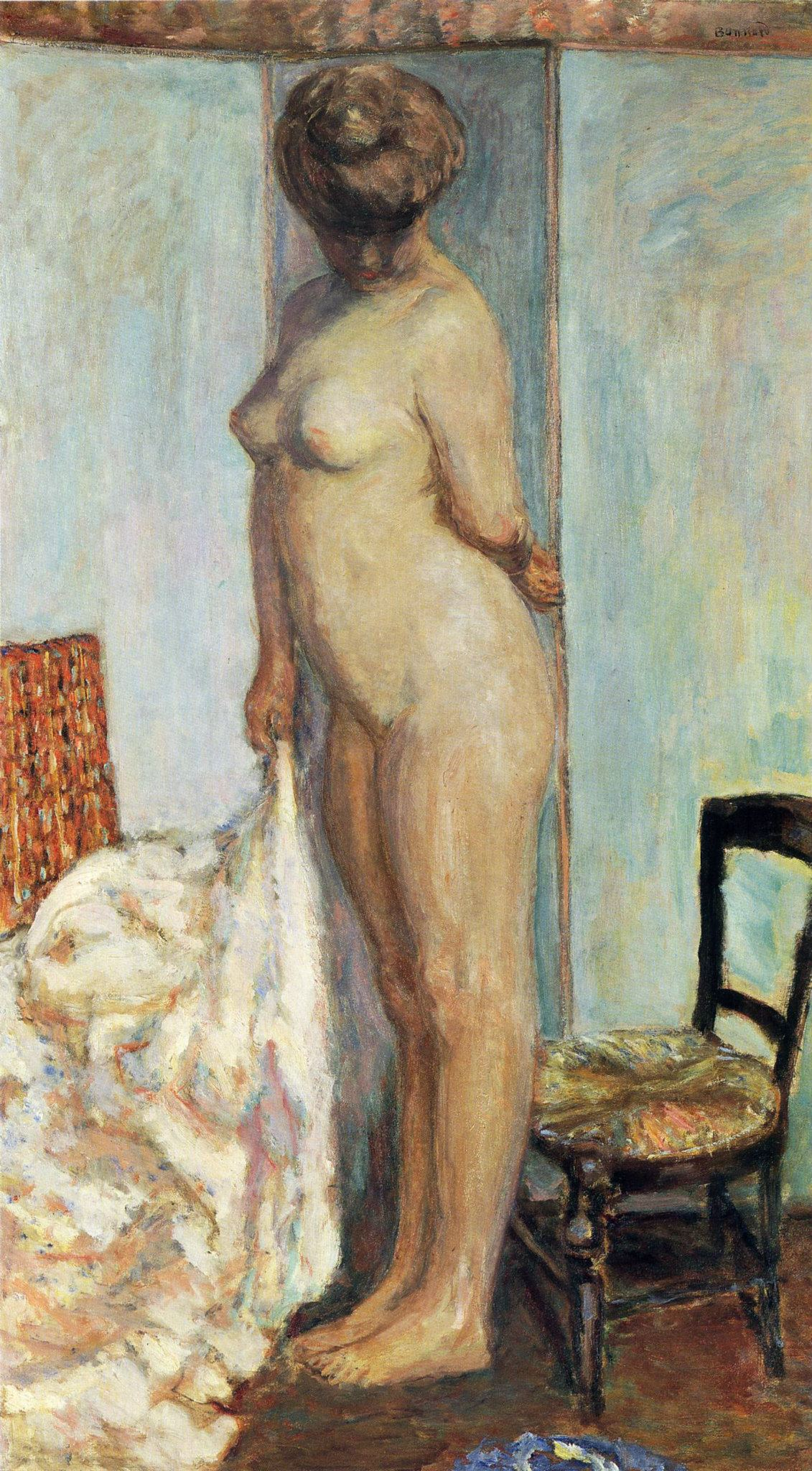 Tall Nude (Also Known As Woman Nude Standing), Pierre Bonnard, 1906