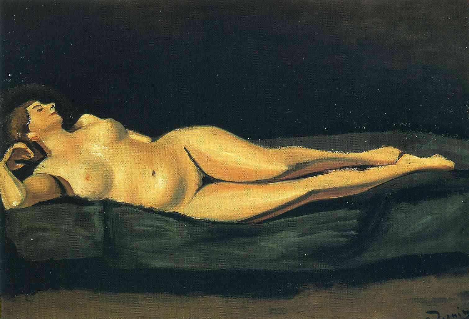 Female nude, Andre Derain