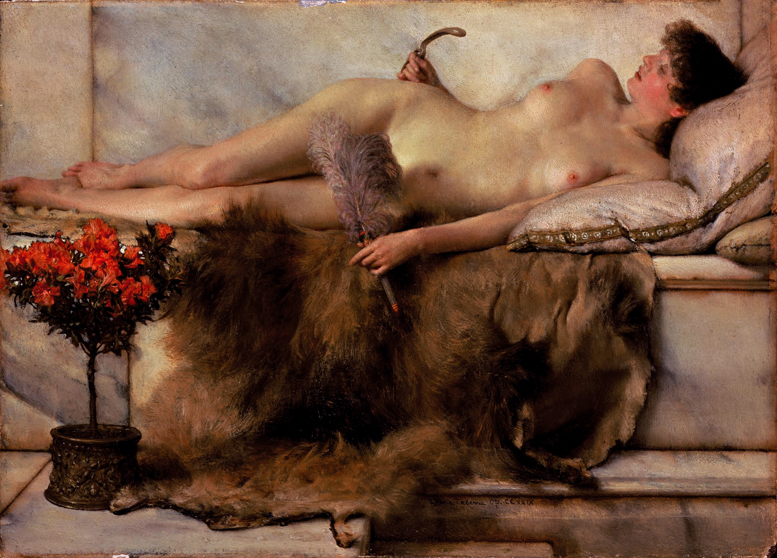 In The Tepidarium, Sir Lawrence Alma-Tadema, 1881