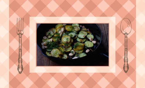 Η συνταγή της ημέρας: Κολοκυθάκια σωτέ με σκόρδο και αμύγδαλα