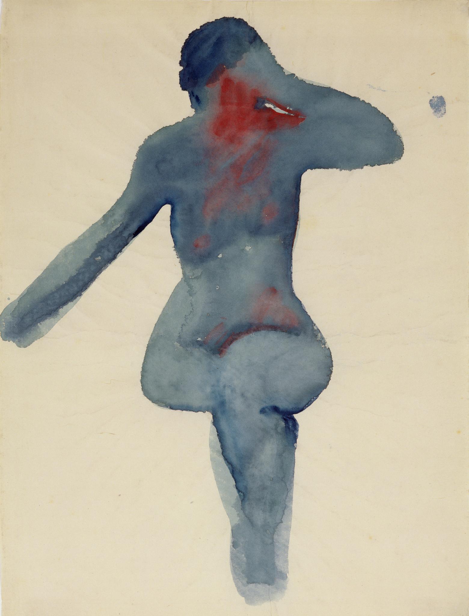 Nude Series 2, Georgia O'Keeffe, 1917